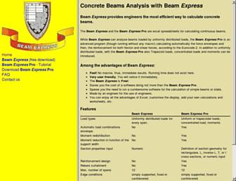 beam-express.com screenshot