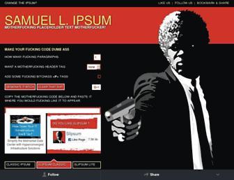 Thumbshot of Slipsum.com