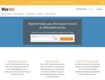 Thumbshot of Wyzant.com