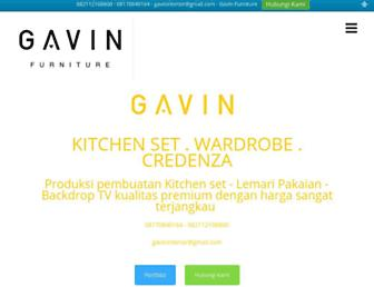 gavinfurniture.com screenshot