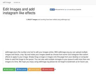 Thumbshot of Editimage.org