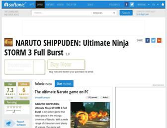 naruto-shippuden-ultimate-ninja-storm-3-full-burst.en.softonic.com screenshot