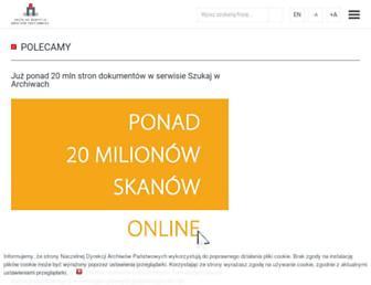 Thumbshot of Archiwa.gov.pl