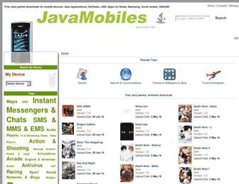 nokia-x2-02.java-mobiles.com screenshot