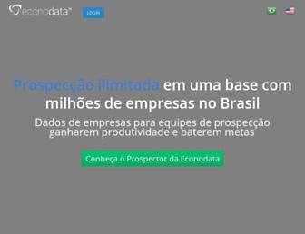 econodata.com.br screenshot