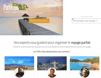 partir.com screenshot