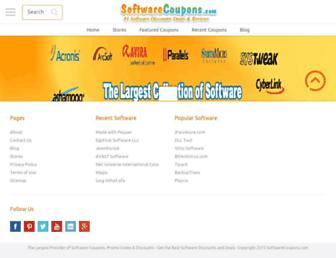 softwarecoupons.com screenshot