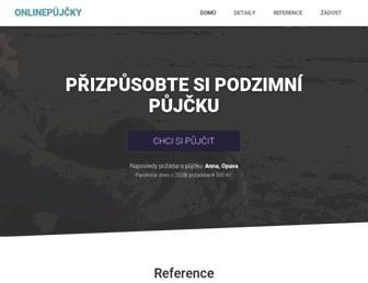 Main page screenshot of daniken.cz