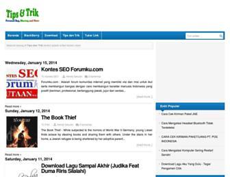 hendyberbagi.blogspot.com screenshot
