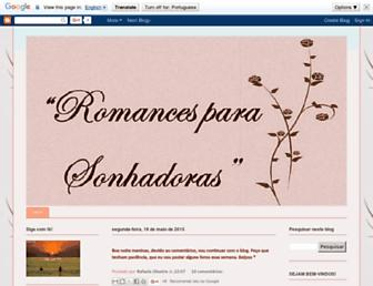 romancesparasonhadoras.blogspot.com screenshot