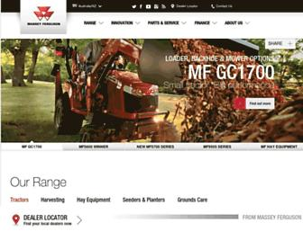 masseyferguson.com.au screenshot
