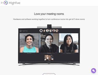 highfive.com screenshot