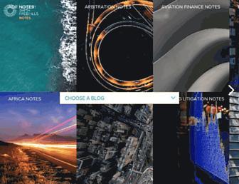 hsfnotes.com screenshot