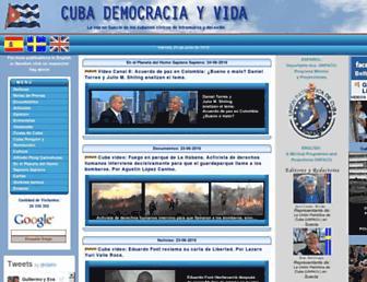 Thumbshot of Cubademocraciayvida.org