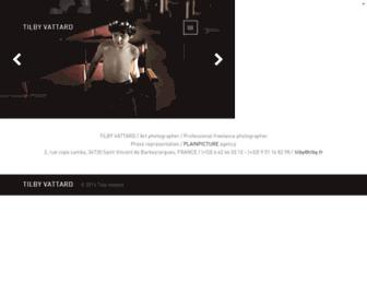 Main page screenshot of tilby.fr