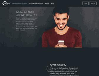 Thumbshot of Trialpay.com
