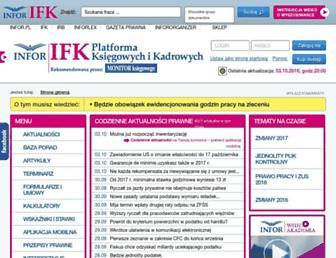 Thumbshot of Inforfk.pl