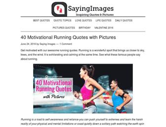 Thumbshot of Sayingimages.com