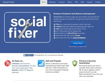Thumbshot of Socialfixer.com
