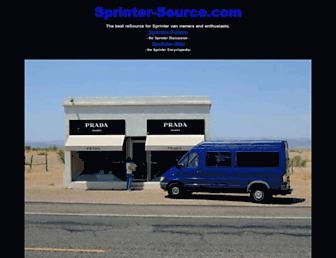 Thumbshot of Sprinter-source.com