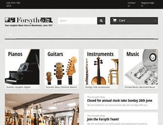 forsyths.co.uk screenshot