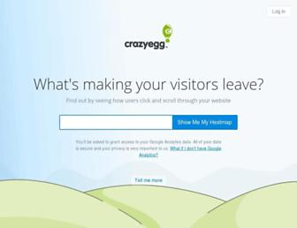Thumbshot of Crazyegg.com