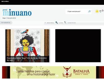 jornalminuano.com.br screenshot