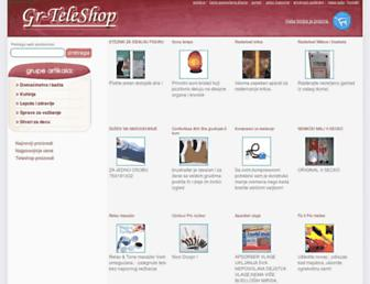 gr-teleshop.com screenshot