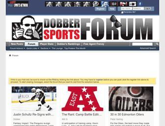 forums.dobbersports.com screenshot