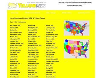 yellowwiz.com screenshot