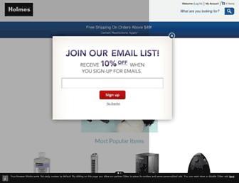 Thumbshot of Holmesproducts.com