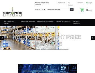 rightpricechemicals.com screenshot