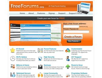 Thumbshot of Freeforums.org