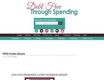 Thumbshot of Debtfreespending.com
