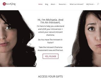 Thumbshot of Introvertspring.com