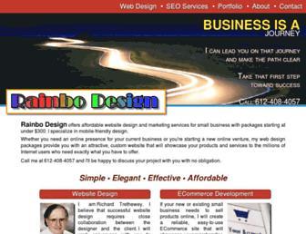 Thumbshot of Rainbodesign.com