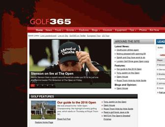 Thumbshot of Golf365.com