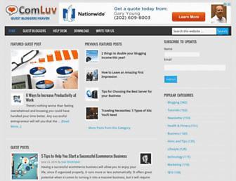 Thumbshot of Comluv.com