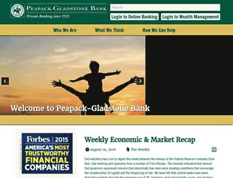 pgbank.com screenshot