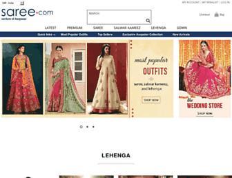 saree.com screenshot