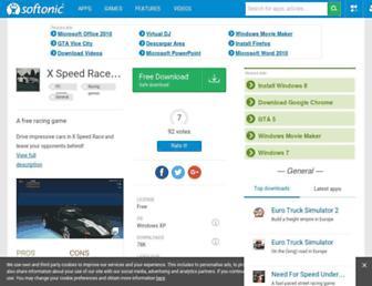 xspeed-race.en.softonic.com screenshot