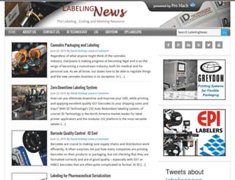 labelingnews.com screenshot