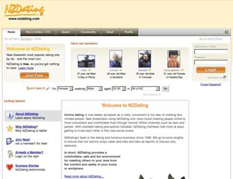 Thumbshot of Nzdating.com