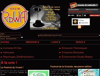 rdwa.fr screenshot