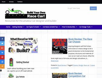 buildyourownracecar.com screenshot