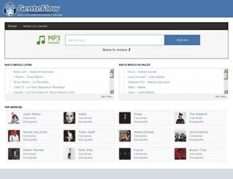 genteflowmp3.com screenshot