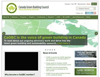 cagbc.org screenshot