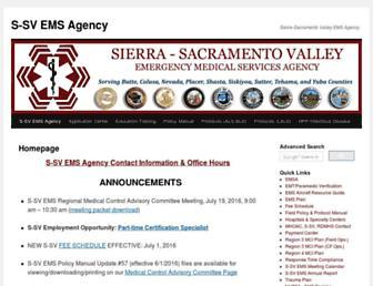 ssvems.com screenshot
