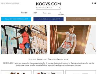 Thumbshot of Koovs.com