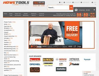 howetools.co.uk screenshot